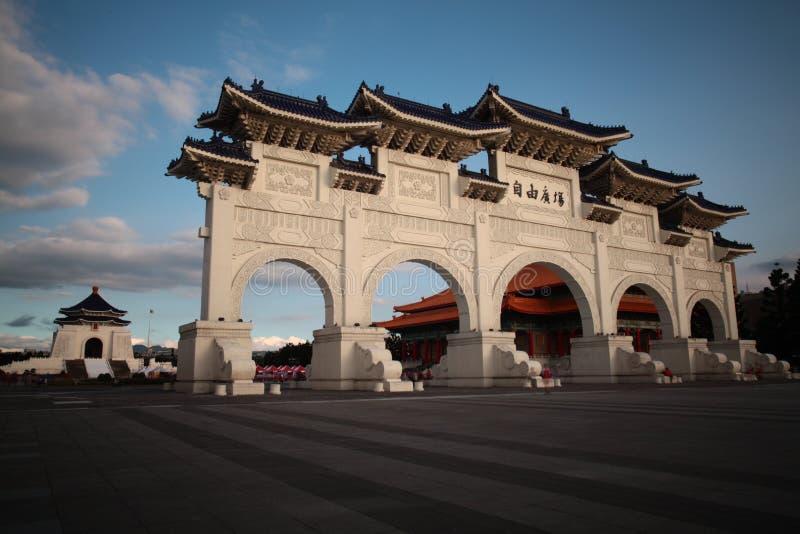 国家台湾民主纪念品 免版税库存图片