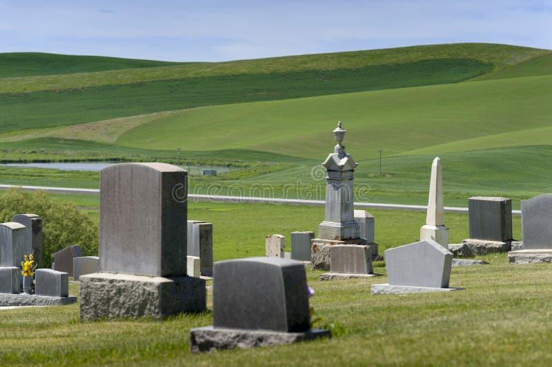 国家坟园 库存图片