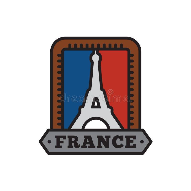 国家徽章汇集,大国家巴黎标志  向量例证