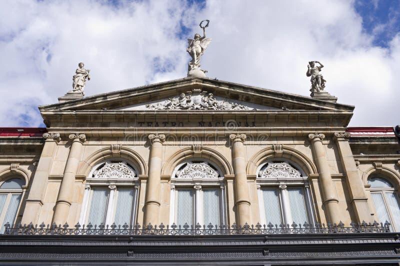 国家戏院在圣约瑟格斯达里加 免版税图库摄影