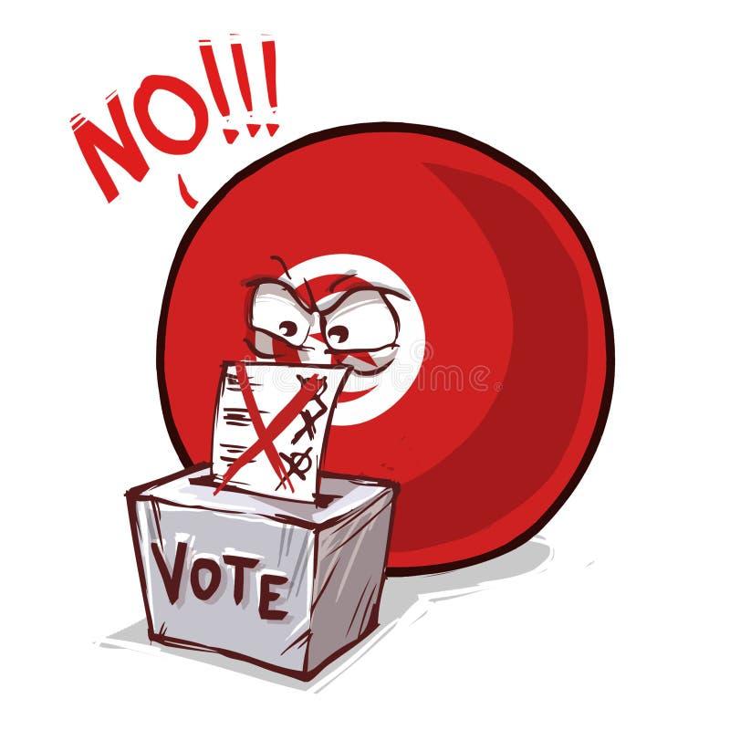 国家投反对票球的火鸡 库存例证