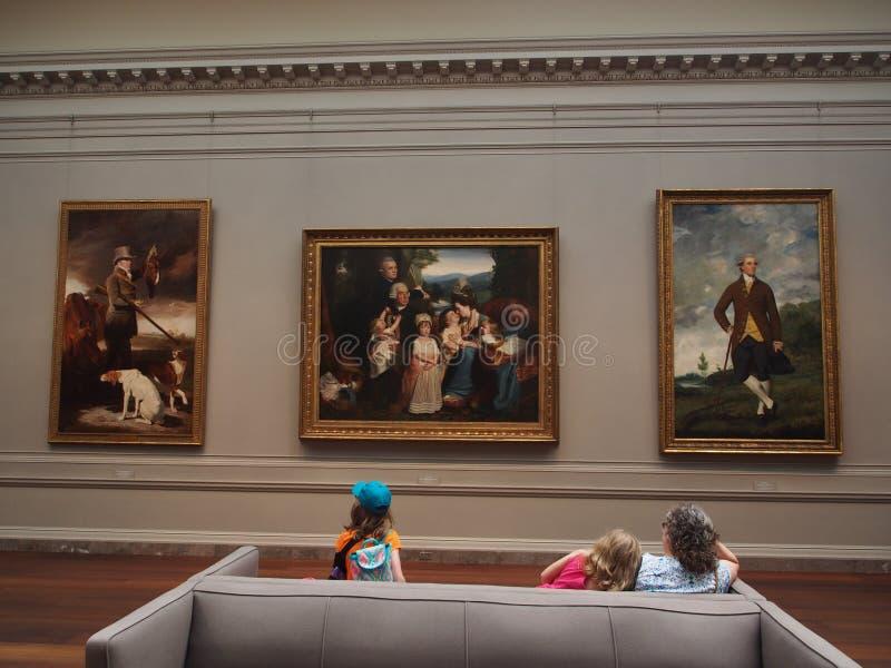 国家肖像馆,华盛顿 免版税库存照片