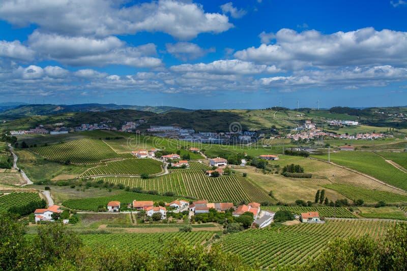 国家边在托里斯Vedras葡萄牙 库存图片