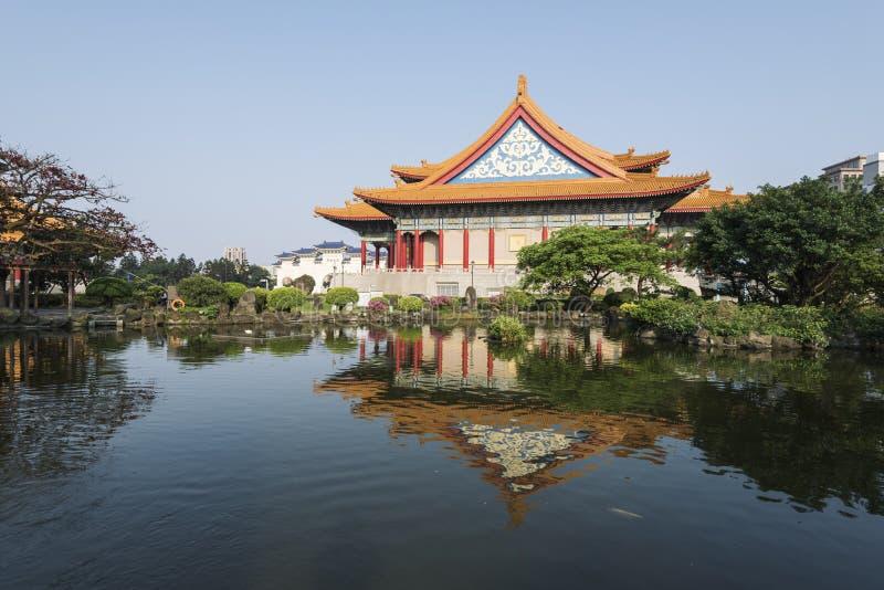 国家音乐厅,台北,台湾 免版税库存图片