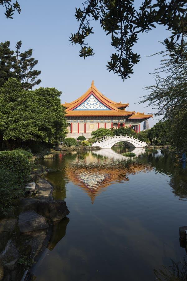 国家音乐厅,台北,台湾 库存图片
