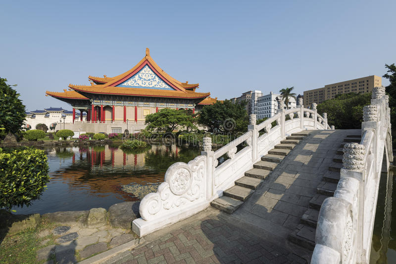 国家音乐厅,台北,台湾 免版税库存照片