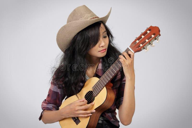 国家音乐家妇女 免版税图库摄影