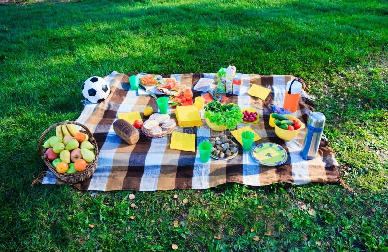 国家(地区)野餐 图库摄影