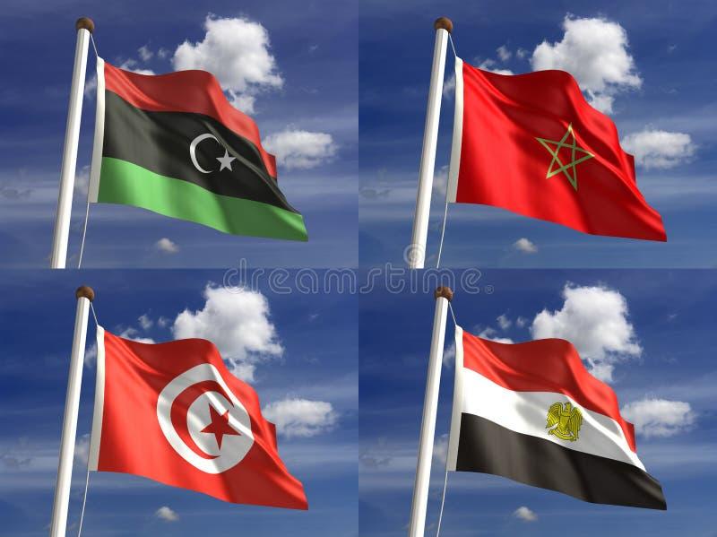 国旗 皇族释放例证