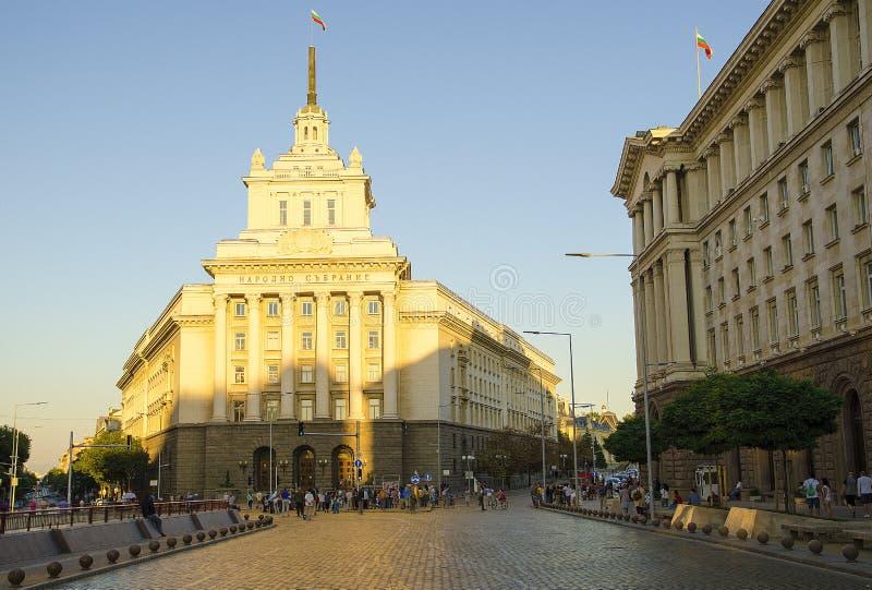 国民议会在索非亚 免版税库存照片