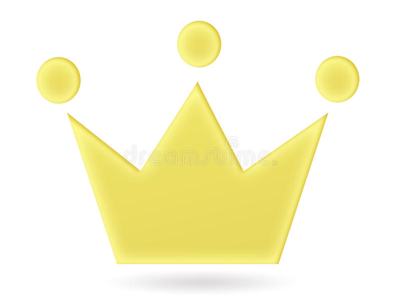 国王冠 皇族释放例证