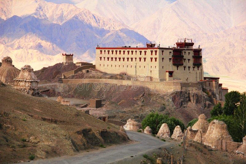 国王宫殿在Stok,北印度 库存照片
