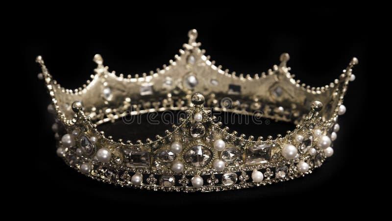 国王或女王冠 免版税库存图片