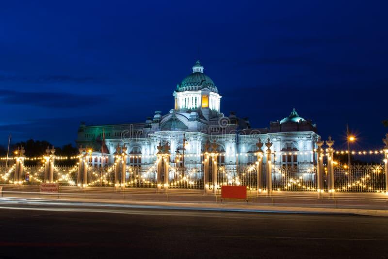 国王的美丽的宫殿 免版税图库摄影