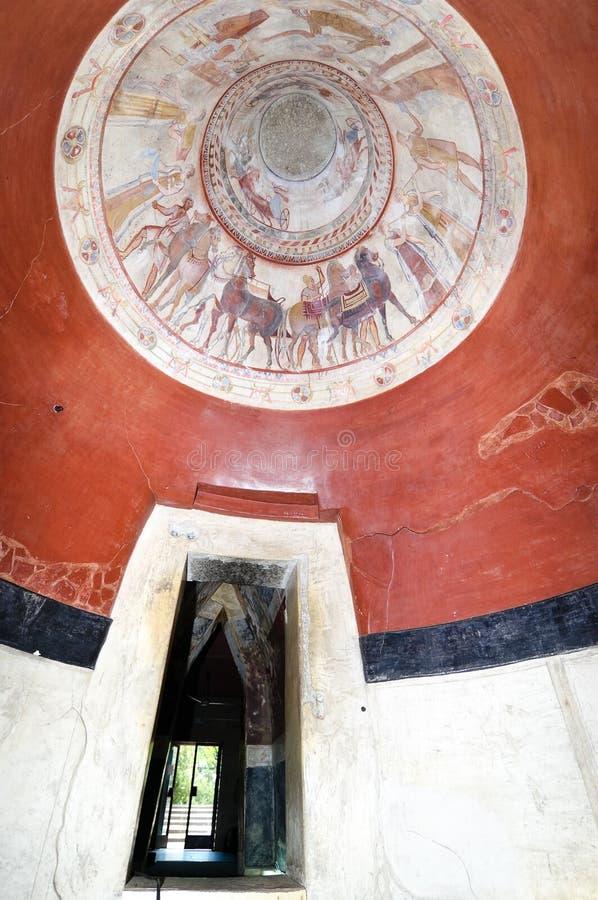 国王thracian坟茔 免版税库存图片