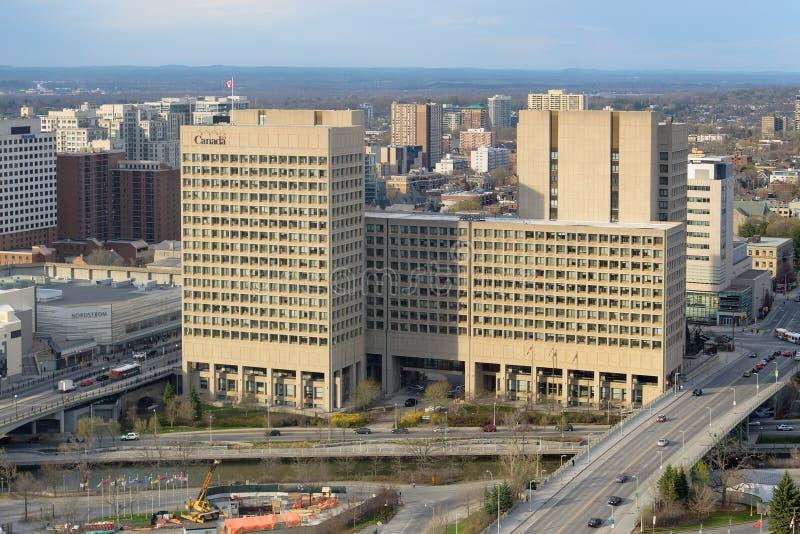 国防总部,渥太华 库存图片