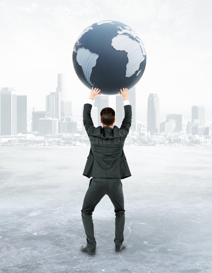 国际企业概念 皇族释放例证