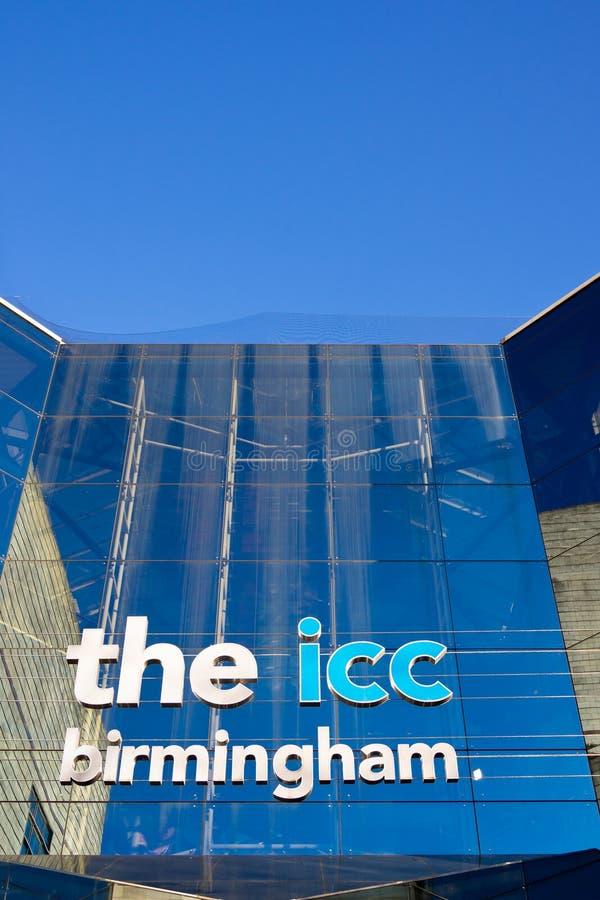 国际会议中心伯明翰,英国 库存图片