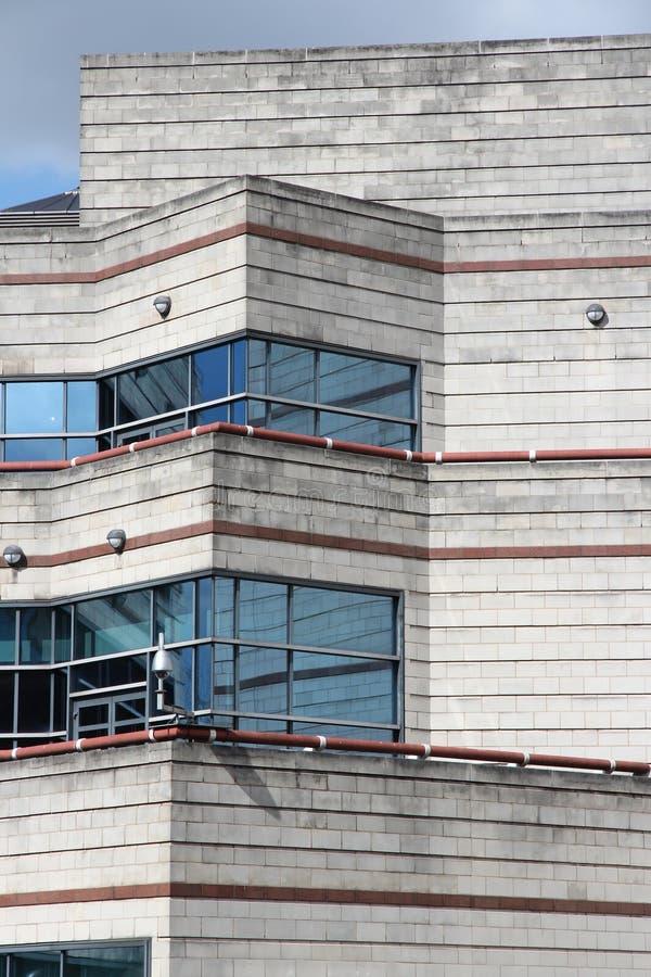 国际会议中心,伯明翰 免版税库存照片