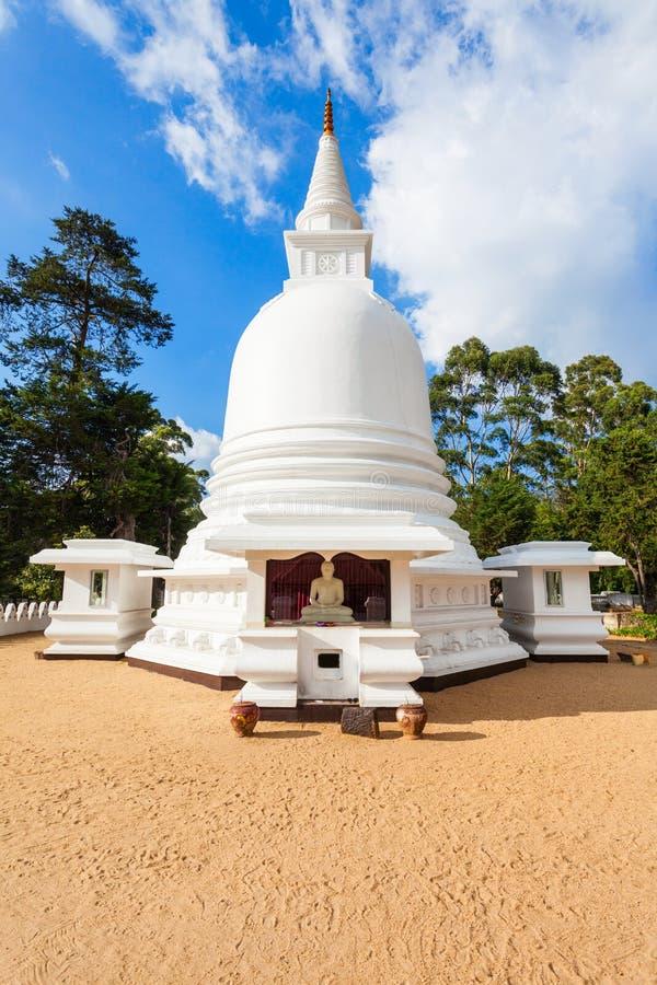 国际佛教中心寺庙 库存图片
