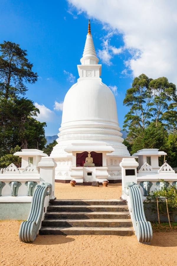 国际佛教中心寺庙 免版税库存照片