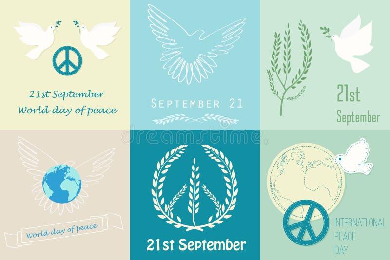国际和平日v国际海报商标模板标志室内设计有啥大学图片