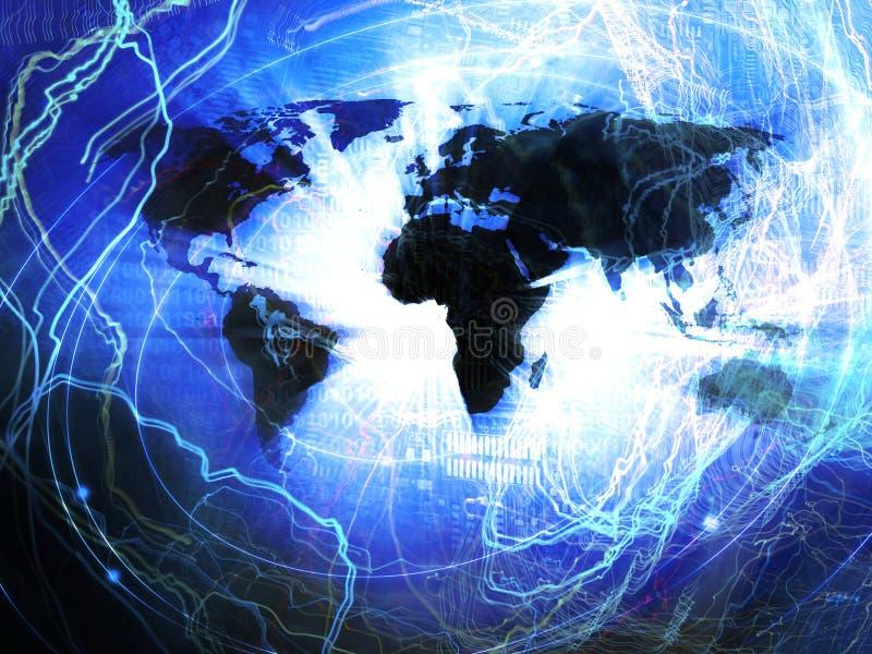 国际商业背景 库存例证