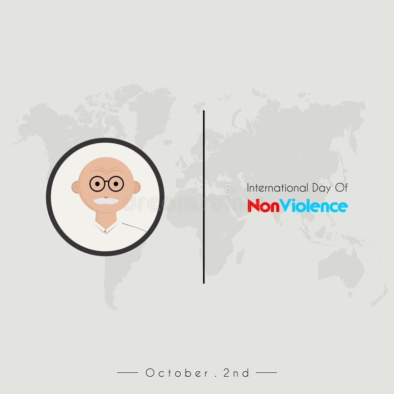 国际天非暴力 皇族释放例证