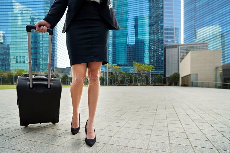 国际女实业家旅行家 免版税库存图片