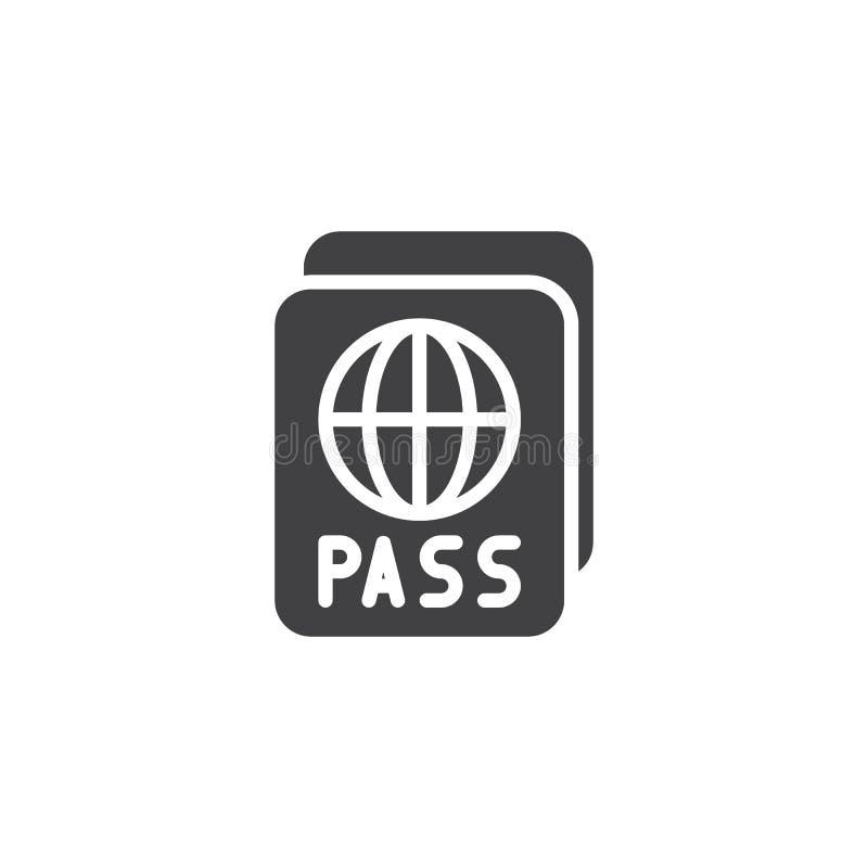 国际护照传染媒介象 皇族释放例证