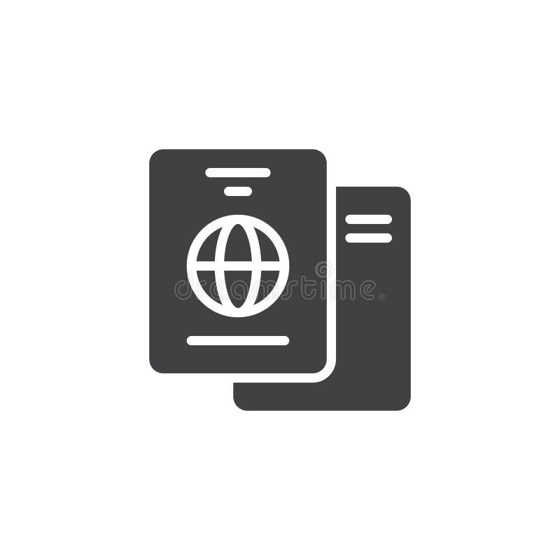 国际护照传染媒介象 向量例证