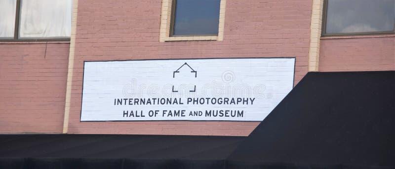 国际摄影光荣榜和博物馆,圣路易斯,密苏里 免版税图库摄影