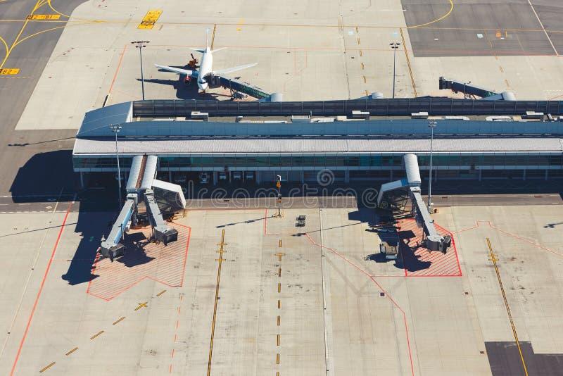 国际机场终端 免版税库存图片