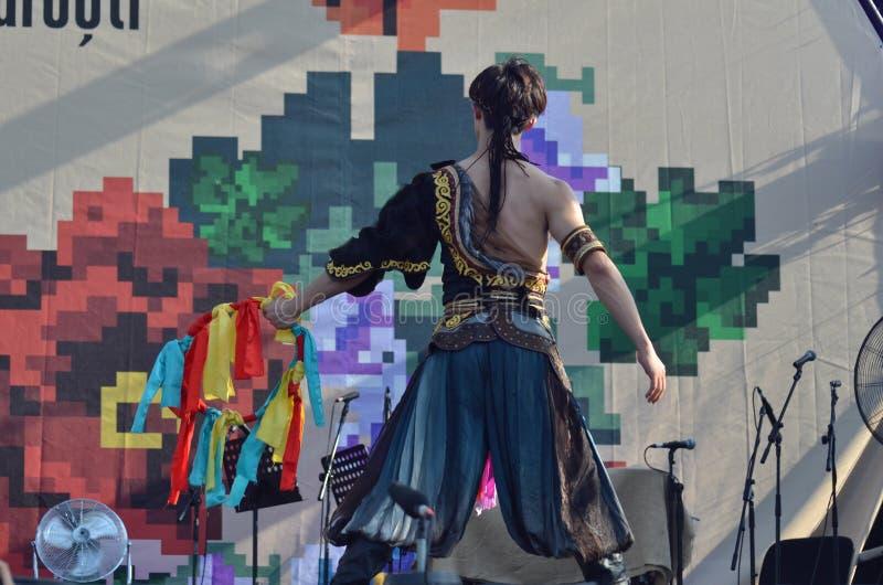 国际民间传说节日:北京舞蹈学院 免版税图库摄影