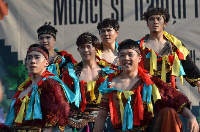 国际民间传说节日:北京舞蹈学院 库存照片