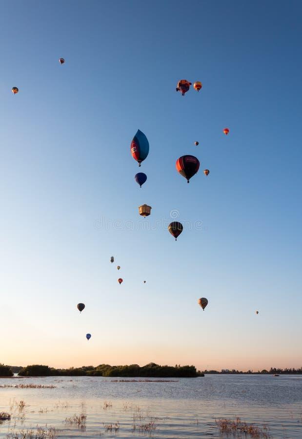 国际气球节日Leà ³ n -墨西哥 图库摄影