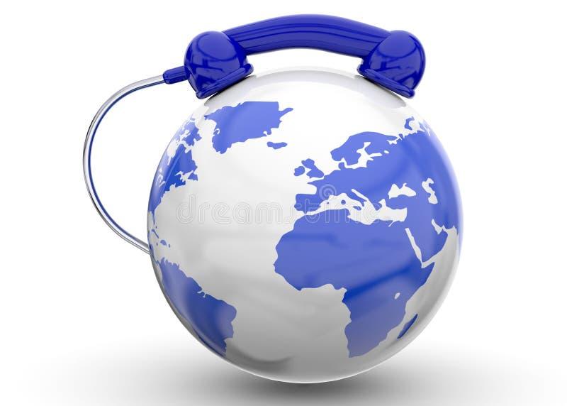 国际电话- 3D 向量例证