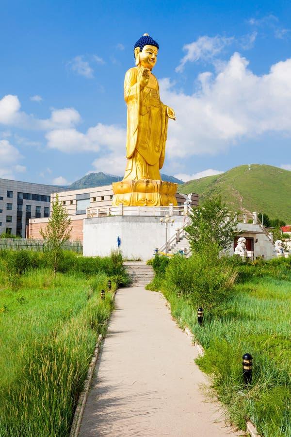 国际菩萨公园, Ulaanbaatar 图库摄影