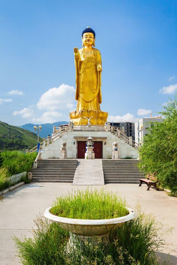 国际菩萨公园, Ulaanbaatar 库存照片