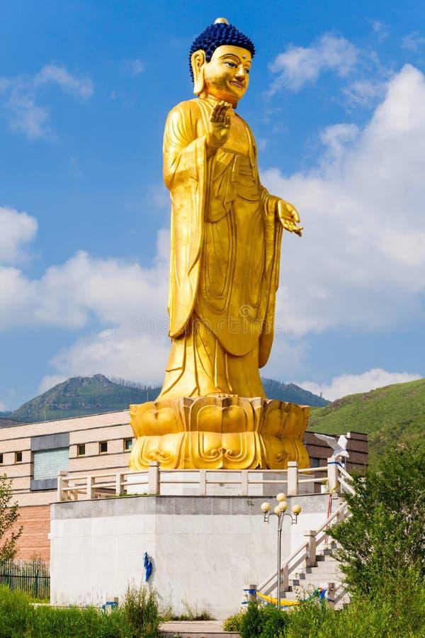 国际菩萨公园, Ulaanbaatar 免版税库存照片
