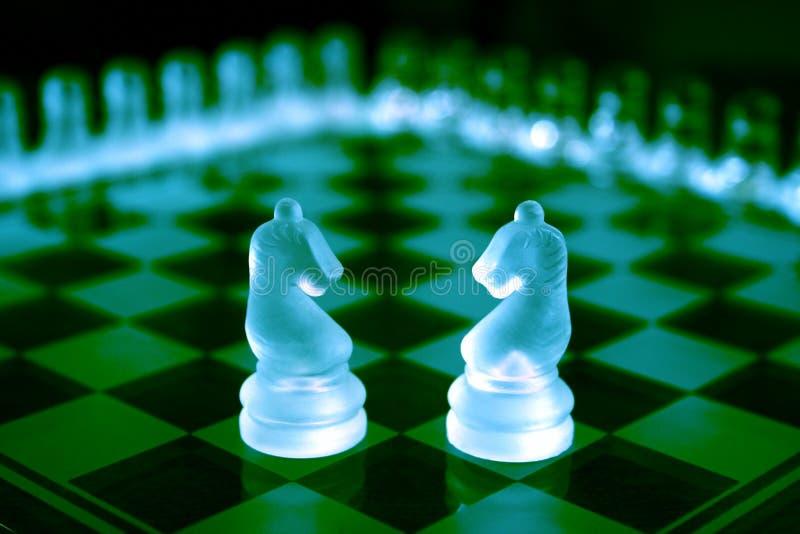 国际象棋棋局 图库摄影