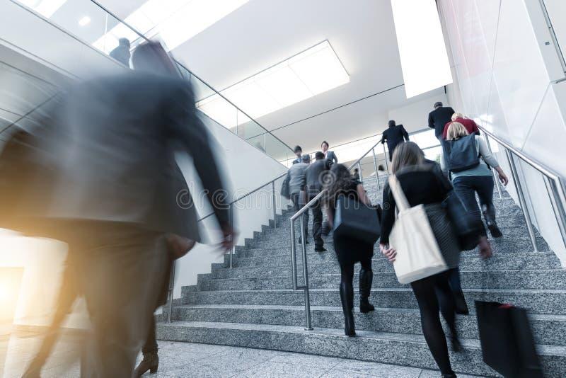 国际贸易公平的楼梯 免版税图库摄影