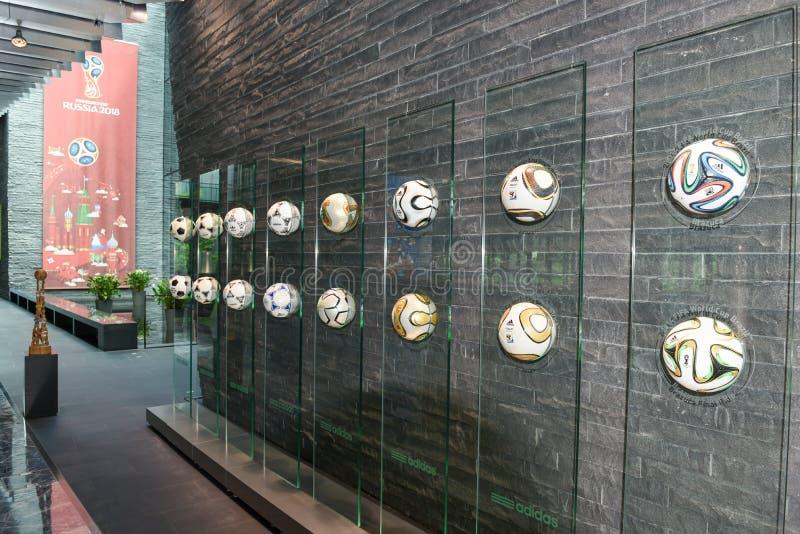 国际足球联合会的总部在瑞士的苏黎世 免版税库存图片