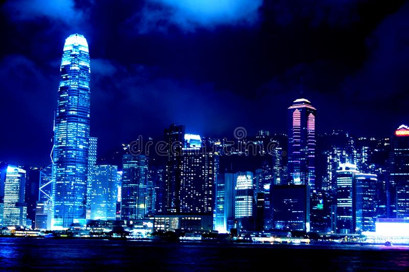 国际金融中心香港 免版税库存照片