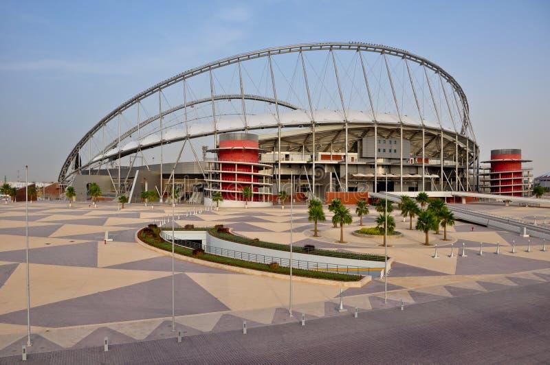国际khalifa体育场 免版税库存照片