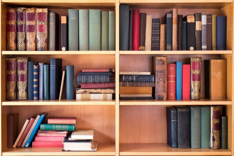 图书馆书 免版税库存照片