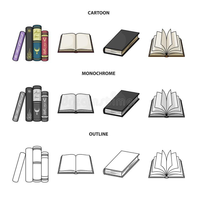 图书馆和课本商标的传染媒介例证 图书馆和学校股票简名的汇集网的 皇族释放例证