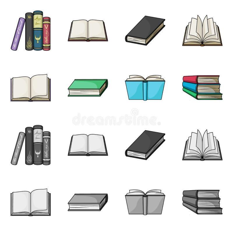 图书馆和课本商标的传染媒介例证 设置图书馆和学校股票的传染媒介象 皇族释放例证