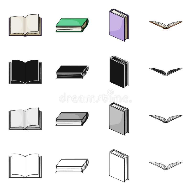 图书馆和课本标志传染媒介设计  设置网的图书馆和学校股票简名 库存例证