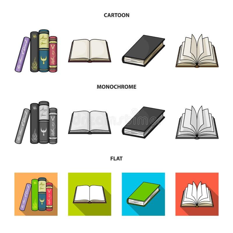 图书馆和课本标志被隔绝的对象  设置图书馆和学校储蓄传染媒介例证 皇族释放例证